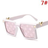 LV Louis Vuitton Fashion New Polarized Couple Travel Personality Sunscreen Glasses Eyeglasses 7#