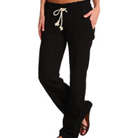 Roxy Ocean Side Pant True Black - Zappos.com Free Shipping BOTH Ways