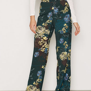 Soft Wide Leg Trousers, River Island