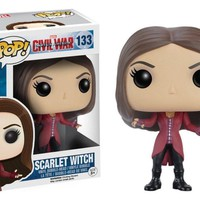 Scarlet Witch Marvel Captain America Civil Funko Pop! Vinyl Figure #133