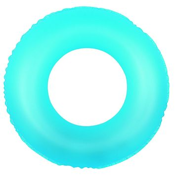 """30"""" Classic Round Blue Inflatable Swimming Pool Inner Tube Ring Float"""