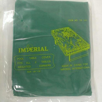 Pool Table Cover (Green)