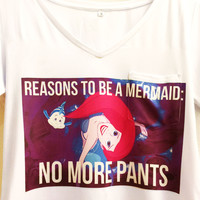 No More Pants Mermaid Shirt | The Little Mermaid | Disney Princess Ariel