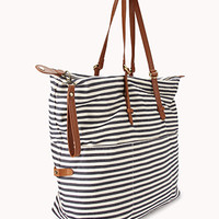 Railroad Striped Holdall