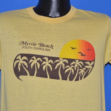 80s Myrtle Beach South Carolina Palm Tree t-shirt Medium
