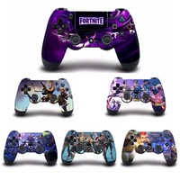 Game Fortnite PS4 Controller Skin Sticker Cover For Sony PS4 PlayStation 4 for Dualshock 4 Game Controller PS4 Skins Stickers