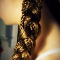 tiny side braid | Long Hair Styles How To