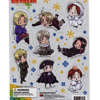 Hetalia: Axis Powers Chibi Characters Magnet Collection | Hot Topic