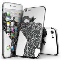 Zendoodle Elephant - 4-Piece Skin Kit for the iPhone 7 or 7 Plus