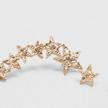 SHINY STARS EARRINGS DETAILS