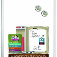 """Board Dudes 11"""" x 14"""" Metalix Magnetic Dry Erase Board, Colors May Vary (CXY22)"""