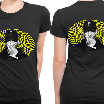 Bryson Tiller Holographic Yellow 2 Sided Womens T Shirt