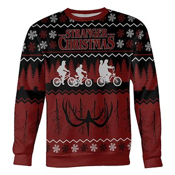 Stranger Things Christmas Sweater