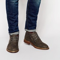 New Look Boot in Faux Nubuck