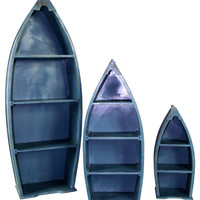 River Cottage Gardens Boat Shelves (Set of 3)