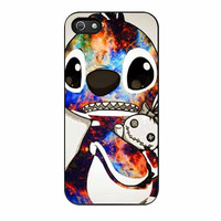 Stitch Disney Galaxy iPhone 5s Case