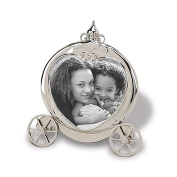 Nickel-plated Pumpkin Carriage Photo Frame