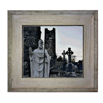Cross Stitch Pattern St Patrick, Hill of Slane Ireland