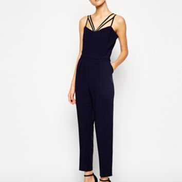 ASOS Jumpsuit With Multi Strap