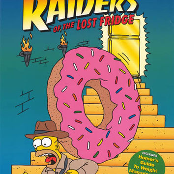 The Simpsons Raiders of the Lost Fridge 2000 Poster 20x28