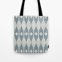 West End - Linen Tote Bag by heatherduttonhangtightstudio