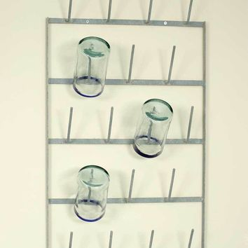 Wine Bottle Dryer Wall Rack - Barn Roof