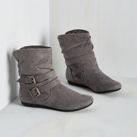 Bramble On Bootie in Fog by ModCloth