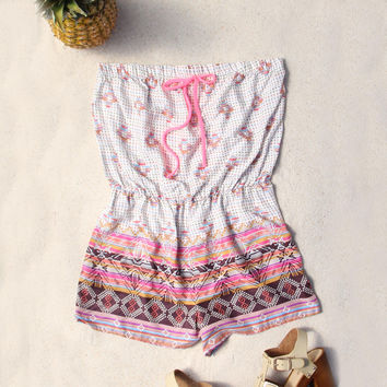 Shadow Palm Romper