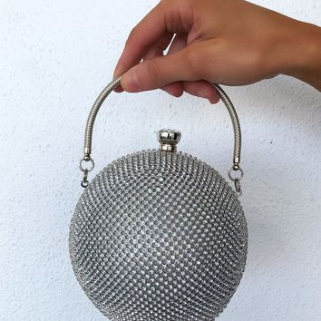 Round Of Applause Purse: Silver