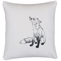 Fox And Hedgehog Cushion