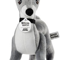Jenna Marbles Kermie Worm Stuffed Animal Collectible Squeaker Toy: Amazon.ca: Pet Supplies