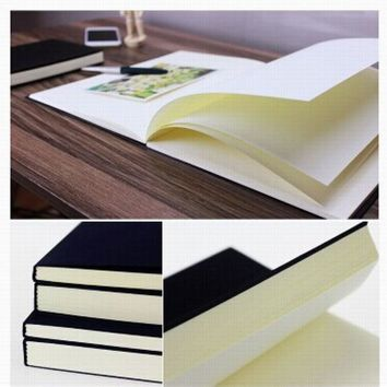 DCCKL72 Free Shipping Vintage Dowling Paper Blank Pages Sketch Book Stationery  Diary Book Student Gift Notebook