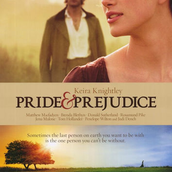 Pride & Prejudice 11x17 Movie Poster (2005)