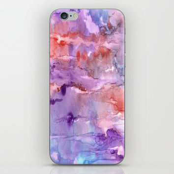 Summer Sunset iPhone & iPod Skin by Rosie Brown