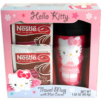 Walmart: Hello Kitty Travel Mug Gift Set with Nestle Hot Cocoa Mix, 3 pc