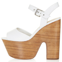LASSIE Shiny Stack Platforms - Shoes - New In This Week - New In - Topshop