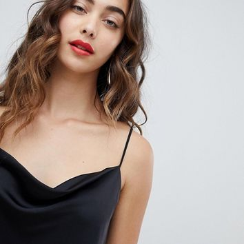 River Island cowl neck cami top at asos.com