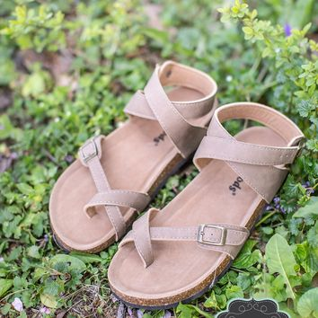 The Vagabond Sandals in Taupe