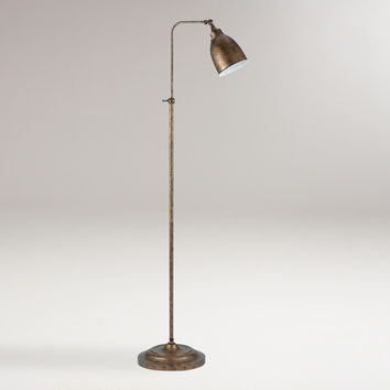 Rust Pharmacy Floor Lamp - World Market