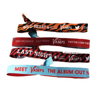 The Vamps - Album & Single Poly Wristbands