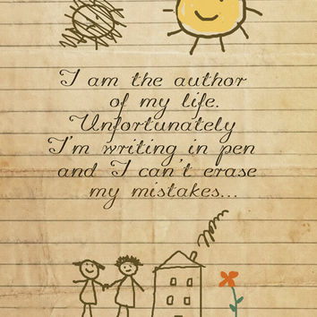 $15.00 I am the autor of my life by Gayana on Etsy