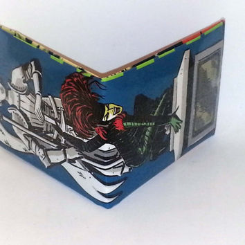 Halloween Half-Off Sale// Comic Book Wallet// Vertigo's Creeper