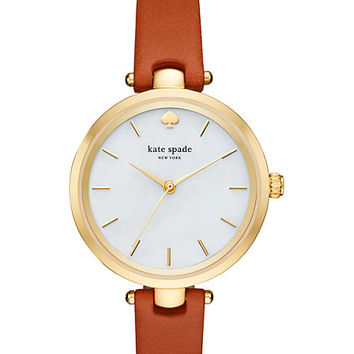 holland skinny strap watch