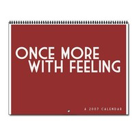 Once More, With Feeling 2012 Wall Calendar by whedon- 102160982