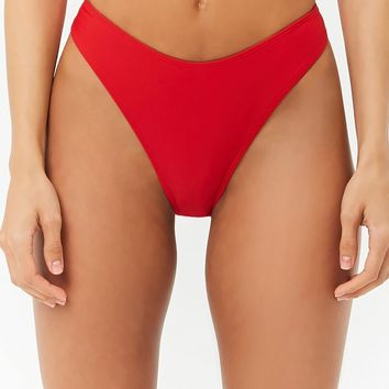 High-Leg Bikini Bottoms