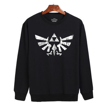 The Legend of Zelda Triforce Sweater sweatshirt unisex adults size S-2XL