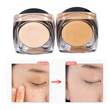 Professional Waterproof Comestic Lady Face Concealer Cream 2 Color Ivory&Complexion Moisturizer Whitening Concealer Maquiagens