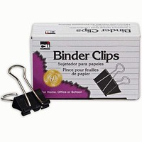 BINDER CLIPS 12CT 1IN LARGE