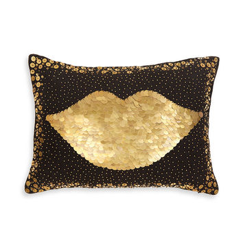 Jonathan Adler Talitha Lips Throw Pillow