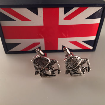 Sherlock Holmes Cufflinks, Detective Cufflinks, Cuff Links, Father's Day, Wedding Gift
